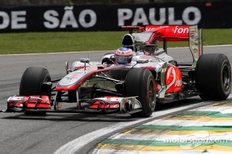 jenson button, mclaren mercedes at brazilian gp - formula 1 photos