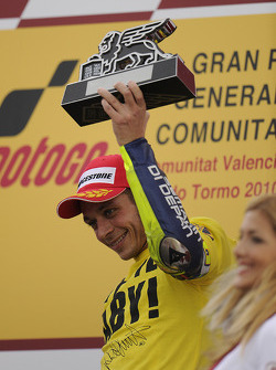 Podium: third place Valentino Rossi, Fiat Yamaha Team