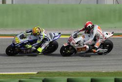 Valentino Rossi, Fiat Yamaha Team, Marco Simoncelli, San Carlo Honda Gresini