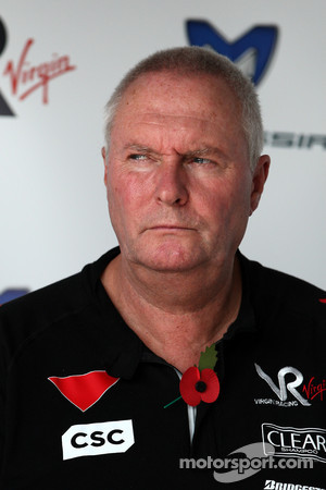 John Booth Virgin Racing Team Principal