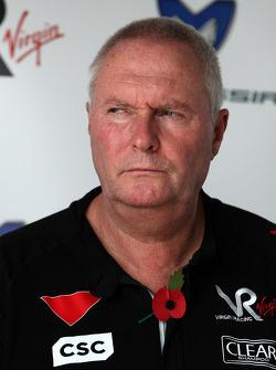 John Booth Virgin Racing Team Principal