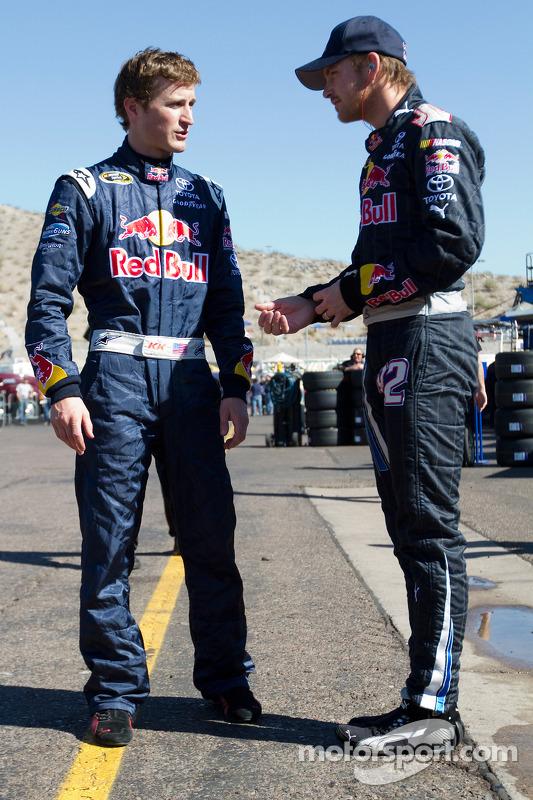 Kasey Kahne, Red Bull Racing Team Toyota en Scott Speed, Red Bull Racing Team Toyota