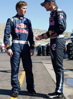 Kasey Kahne, Red Bull Racing Team Toyota and Scott Speed, Red Bull Racing Team Toyota