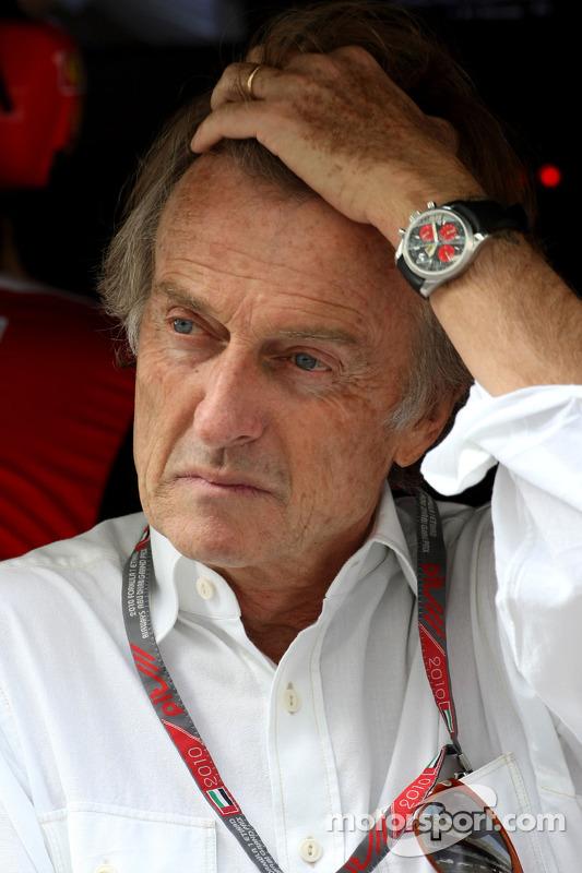 Luca di Montezemolo, Scuderia Ferrari, FIAT-voorzitter en president van Ferrari