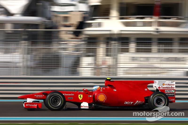 2010: Fernando Alonso, Scuderia Ferrari F10