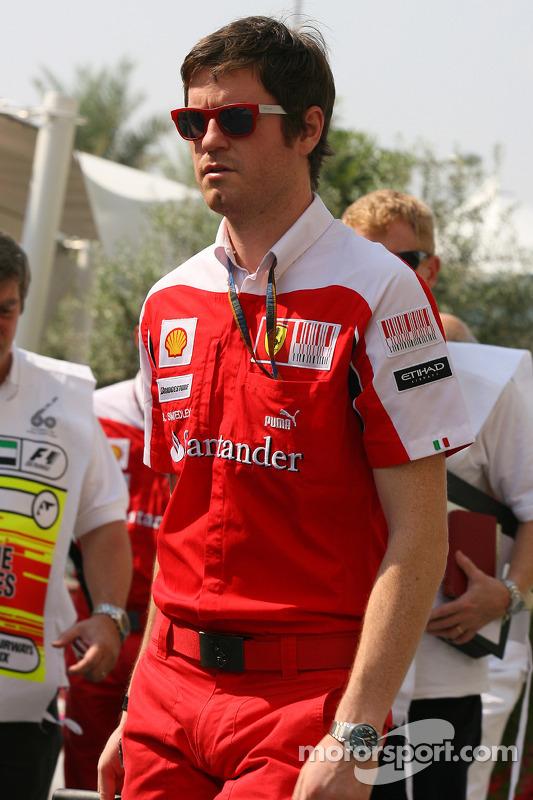 Rob Smedley, Scuderia Ferrari, Chief Engineer Felipe Massa