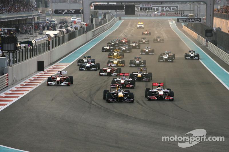 3 место. Гран При Абу-Даби-2010, «Яс-Марина»