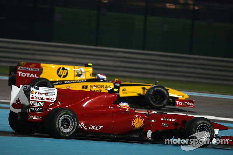 Fernando Alonso, Scuderia Ferrari runs wide