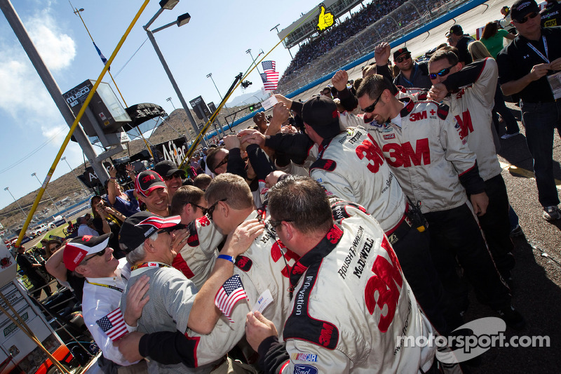 Roush Fenway Racing Ford team