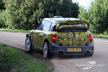 Mini Countryman WRC 25 testing in Sassari, Sardinia