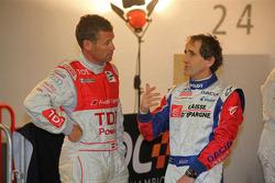 Tom Kristensen and Alain Prost