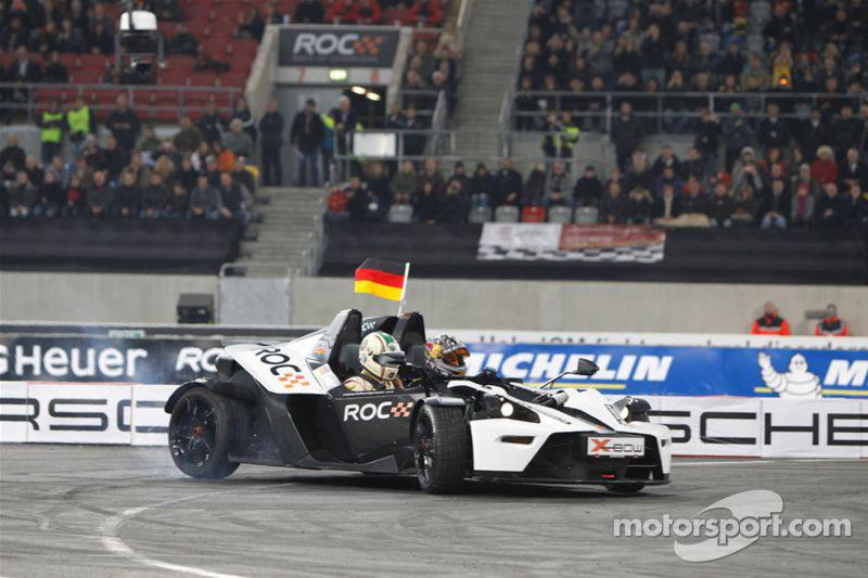 Group B, semi final: Sebastian Vettel