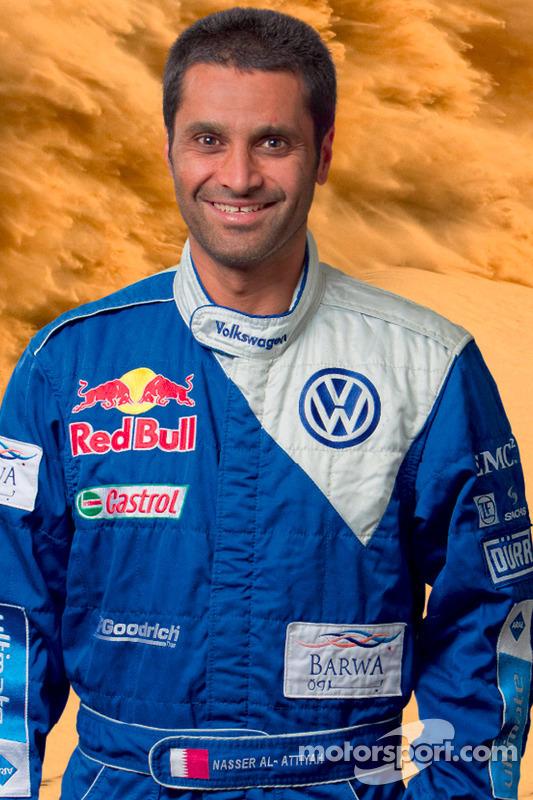Volkswagen Motorsport: rijder Nasser Al Attiyah