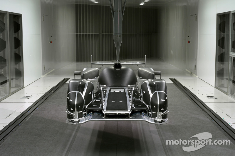 2011 Audi R18 TDI, windtunnel
