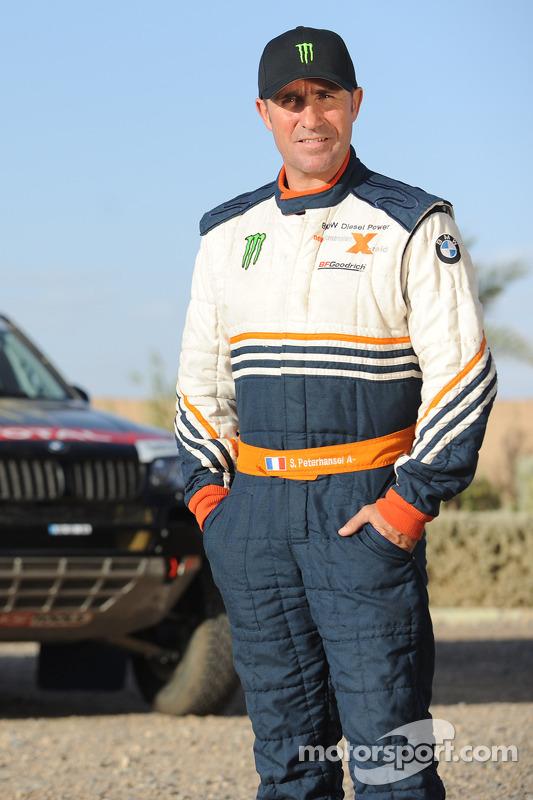 Team X-raid: rijder Stéphane Peterhansel