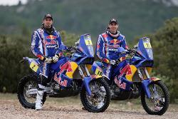 Présentation des équipes moto