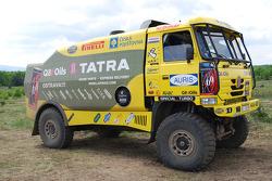 Loprais Tatra Team: Ales Loprais, Milan Holan and Josef Kalina