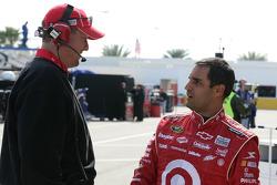 Juan Pablo Montoya, Earnhardt Ganassi Racing Chevrolet with crew chief Brian Pattie