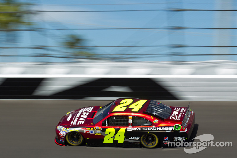 "Jeff Gordon und ""Drive To End Hunger"""
