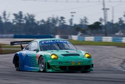 #17 Team Falken Tire Porsche 997 GT3 RSR: Wolf Henzler, Bryan Sellers