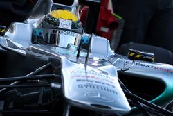 Nico Rosberg, Mercedes GP F1 Team, MGP W02, detail