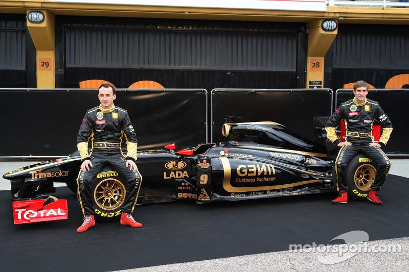 Роберт Кубіца та Віталій Петров, Lotus Renault GP
