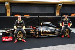 Robert Kubica, Lotus Renault GP, Vitaly Petrov, Lotus Renault GP