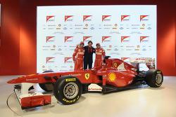 Fernando Alonso, Lapo Elkann, Felipe Massa