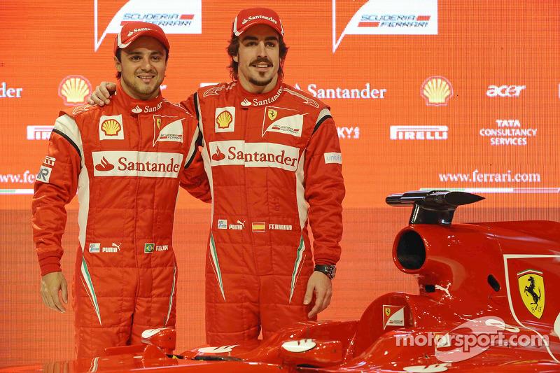 Fernando Alonso, Felipe Massa