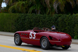 A Ferrari 166 MM on the streets of West Palm Beach