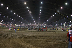 View of the Chili Bowl from corners 1 and 2