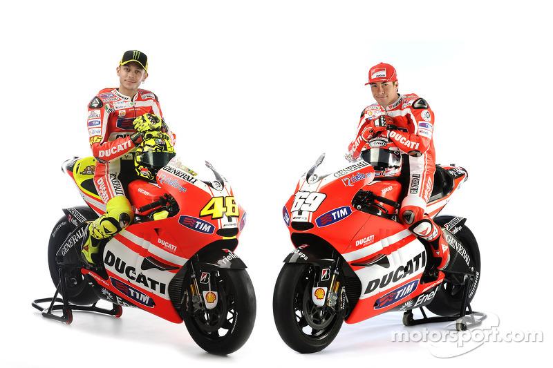 2011 - Comienza la aventura en Ducati