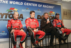 Press conference: Jon Fogarty, Alex Gurney, Bob Stallings et Jimmie Johnson