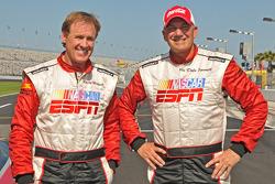 Rusty Wallace and Dale Jarrett