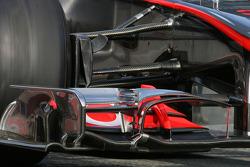 L'aileron avant de McLaren Mercedes