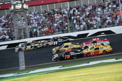 Ryan Newman, Stewart-Haas Racing Chevrolet leads