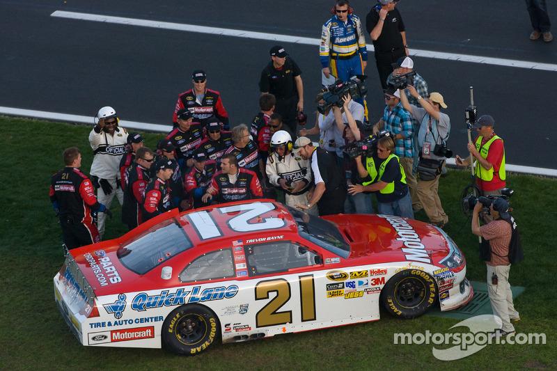 2011: #21 Trevor Bayne - Wood Brothers Racing Ford