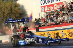 Brandon Bernstein  aboard his Copart Top Fuel Drgaster