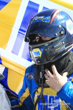 Ron Capps, driver of the NAPA Auto Parts Dodge Charger Funny Car