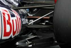 Scuderia Toro Rosso rear suspension detail