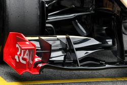 Lotus Renault GP front wing detail