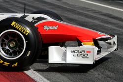 Hispania Racing F1 Team F111: Frontflügel