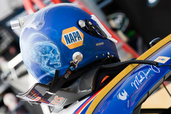 Helmet of Martin Truex Jr., Michael Waltrip Racing Toyota
