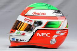Helmet of Sergio Perez, Sauber F1 Team