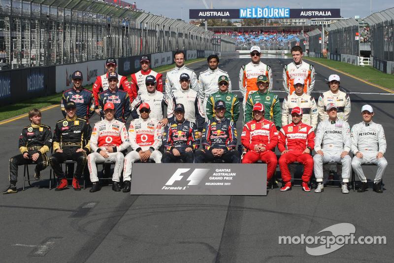 2011 Formula 1 sezonu pilotları