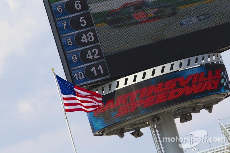 Martinsville Speedway giant screen