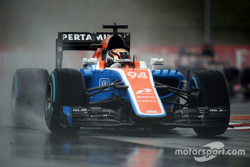 20: Pascal Wehrlein, Manor Racing MRT05
