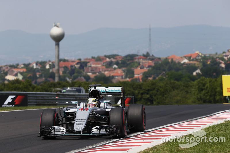 Ungarn, Budapest: Lewis Hamilton (Mercedes)