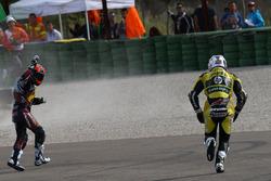 Mika Kallio, Marc VDS Racing Team and  Maverick Viñales, Pons HP 40 kaza