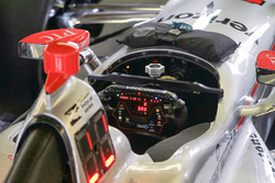 Will Power, Team Penske Chevrolet, detalle de volante